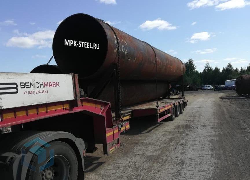 Трубы больших диаметров для магистралей - реализация.