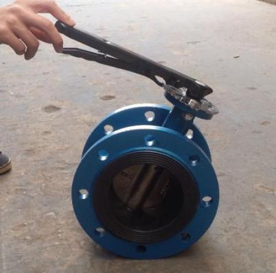Затвор дисковый поворотный Ду150 Ру16 межфланцевый